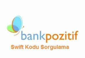 Bank Pozitif Swift Kodu Sorgulama