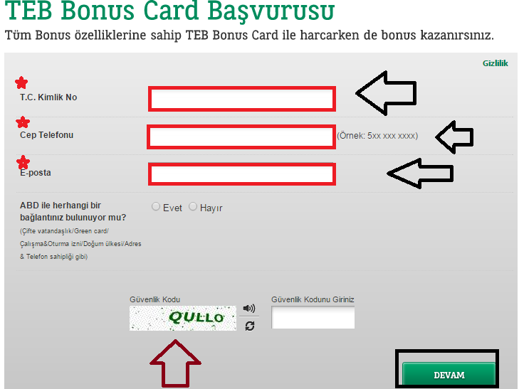 teb bonus